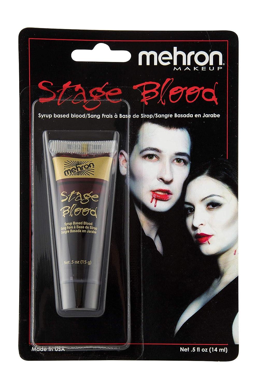 Mehron Makeup Stage Blood (4.5 oz) (Bright Arterial) 152-4