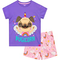 Harry Bear Pijamas para niñas Pug Unicornio