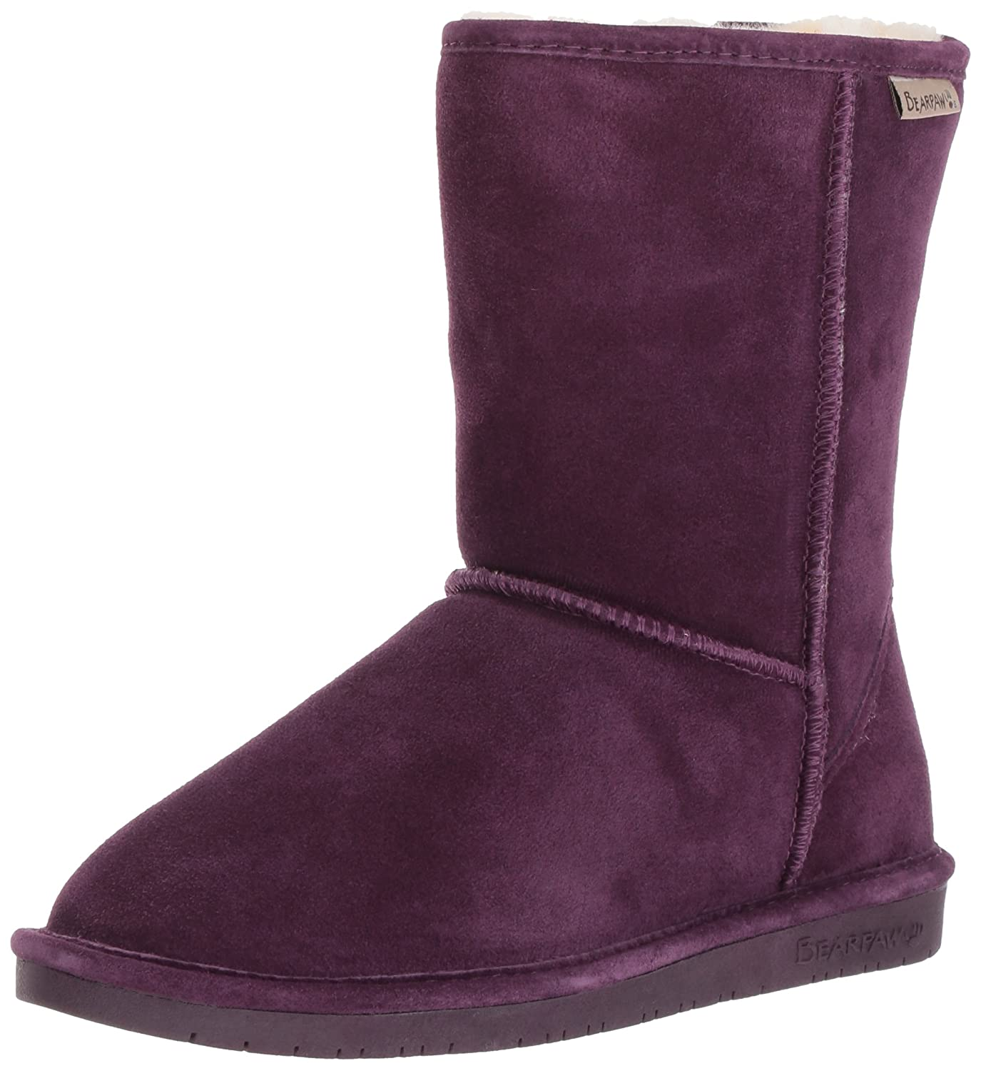 BEARPAW Women's Emma Short Snow Boot B0781F4VDD 42 M EU|Plum