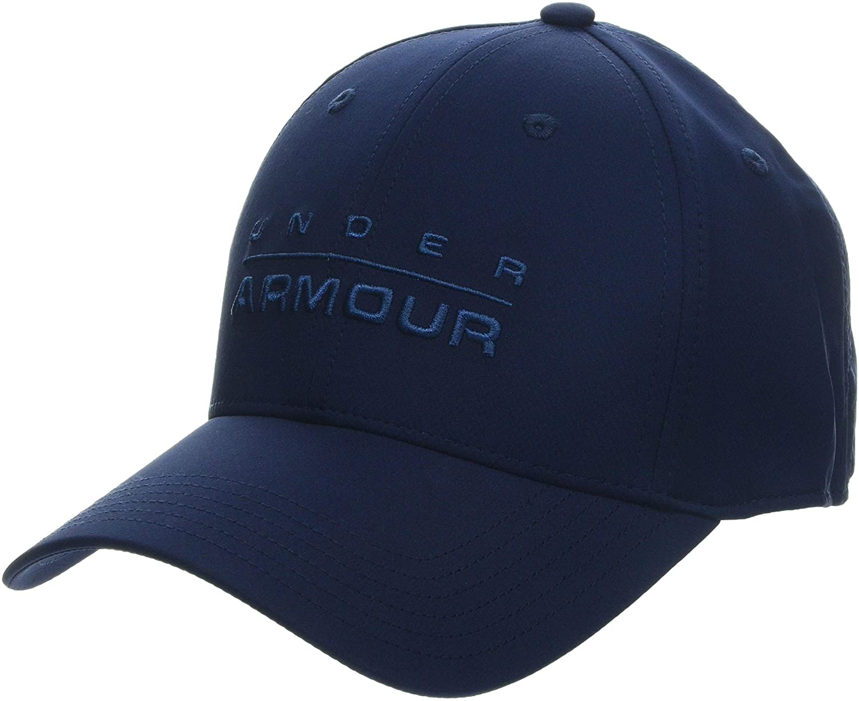 Under Armour UA Wordmark Stretch Fit Cap S/M Academy