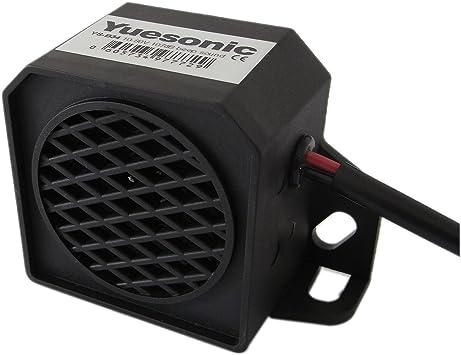 Yuesonic 107db Beep Sound Backup Alarm Rückfahrwarner Summer Mit Draht Anschluss Für Fahrzeuge Auto