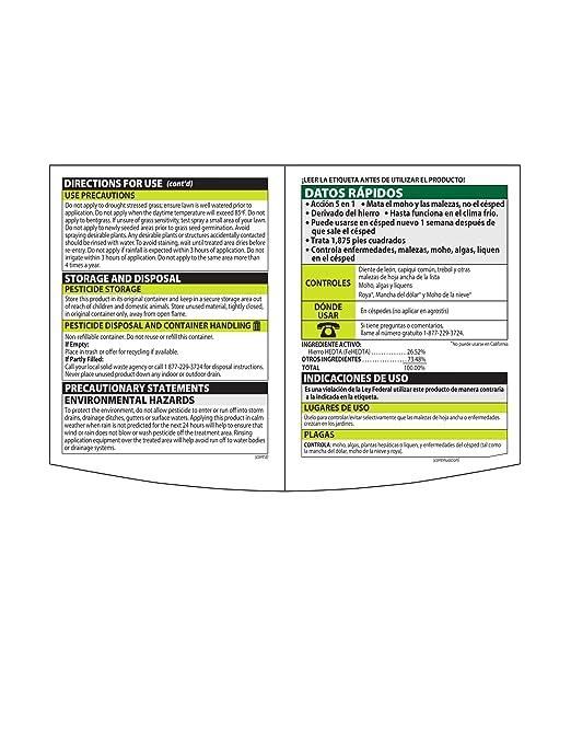 Amazon.com : Natria 100532523 Bayer Lawn Weed & Disease Control Concentrate, 24-Ounce, White : Garden & Outdoor
