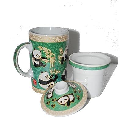 Amazon com | Panda Filter Tea Cup (A): Teacups: Teacups