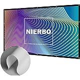 """Écran de Projection, NIERBO 100"""" Toile Projection Ecran Videoprojecteur Écran de Projection en Toile Pliable(227X132cm)"""
