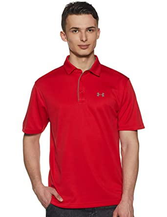 816edbdb Under Armour Tech Golf Polo Shirt: Amazon.ca: Sports & Outdoors