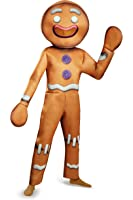 Disguise Men's Shrek Gingy Deluxe Costume