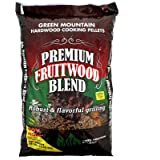 Green Mountain Grill Gmg-2003 Premium Fruitwood Blend Pellets 28 Lb Bag