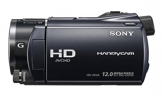 amazon com sony hdr xr550v 240gb high definition hdd handycam rh amazon com