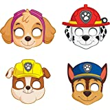 Paw Patrol Party Masks [8 per Package]