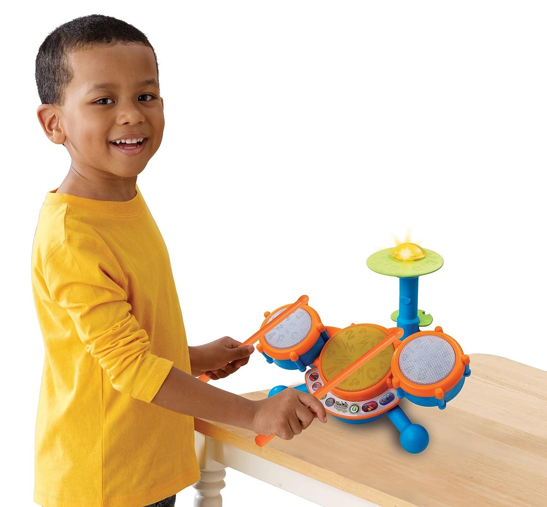 Amazon VTech KidiBeats Kids Drum Set Toys & Games