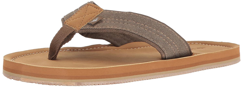 56ac694076d4 Dockers Men s Kevin Textural Classic Sandal Flip Flop