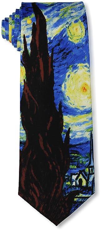 Starry Night Ties Art Vincent van Gogh Neck Ties