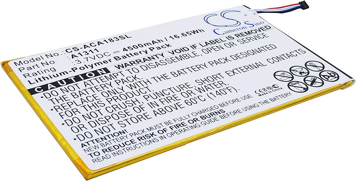 Rechargeable Battery for Acer A1-830, A1-830-2Csw-L16T, Iconia A1-830-25601G01nsw, Iconia Tab 8 Replacement for Acer A1311, KT.0010M.004