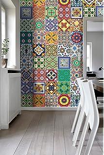 piastrelle murali adesive mosaico | stickers da parete auto ... - Piastrelle Adesive Da Muro