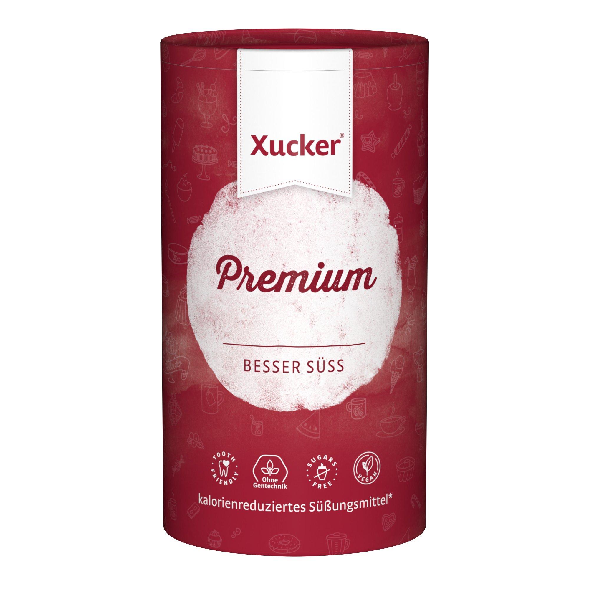 Xucker Premium 1kg kalorienreduzierte Zuckeralternative Xylit - aus Finnland - vegan, glutenfrei, nachhaltig und zahnfreundlich product image