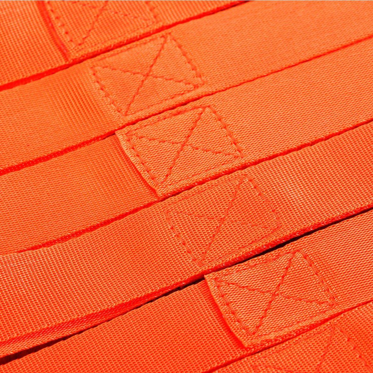 Orange UTV Motorrad OUNONA 6 St/ück Zurrschlaufen Spanngurt Tie-Down Straps f/ür-ATV