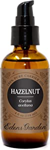Edens Garden Hazelnut Carrier Oil (Best for Mixing with Essential Oils), 4 oz