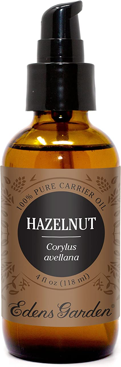 Amazon Com Edens Garden Hazelnut Carrier Oil Best For Mixing With Essential Oils 4 Oz Health Personal Care