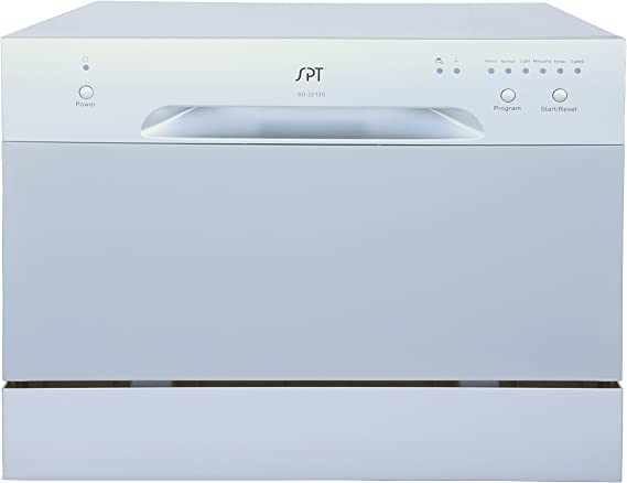 SPT SD-2213S Countertop Dishwasher, Silver