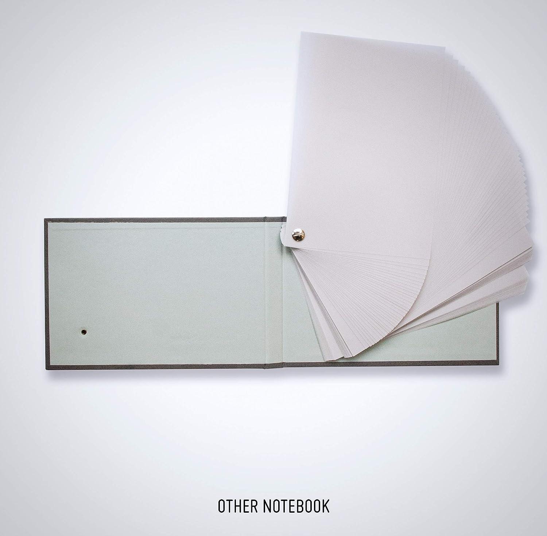 Fan Deck Notebook Tracing Paper Hardcover Artist Notebook