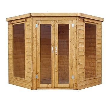 7 x 7 cobertizo (T & G, – Esquina de madera lugar de descanso