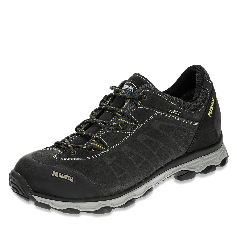 Meindl zapatos de Senderismo Hombre gris y amarillo