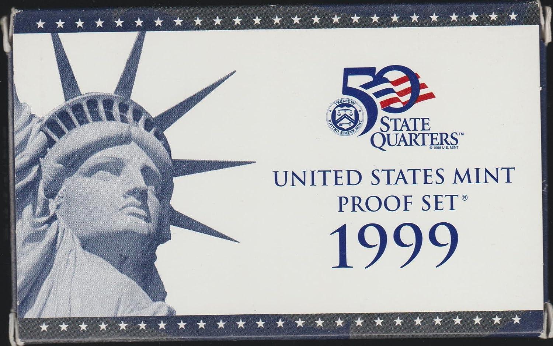 B01LZBB6IO 1999 S US Mint Proof Set Original Government Packaging 814Wfzw72B0L
