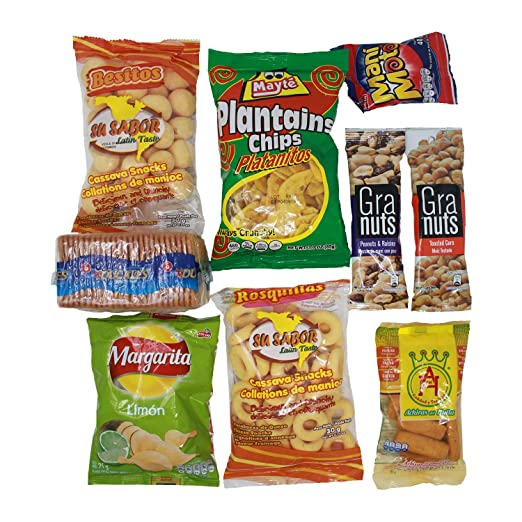 Colombian Snacks Sampler Box - Mecato Colombiano - Cookies, Chips & Candies Variety Pack (Mecato+supercoco): Amazon.com: Grocery & Gourmet Food