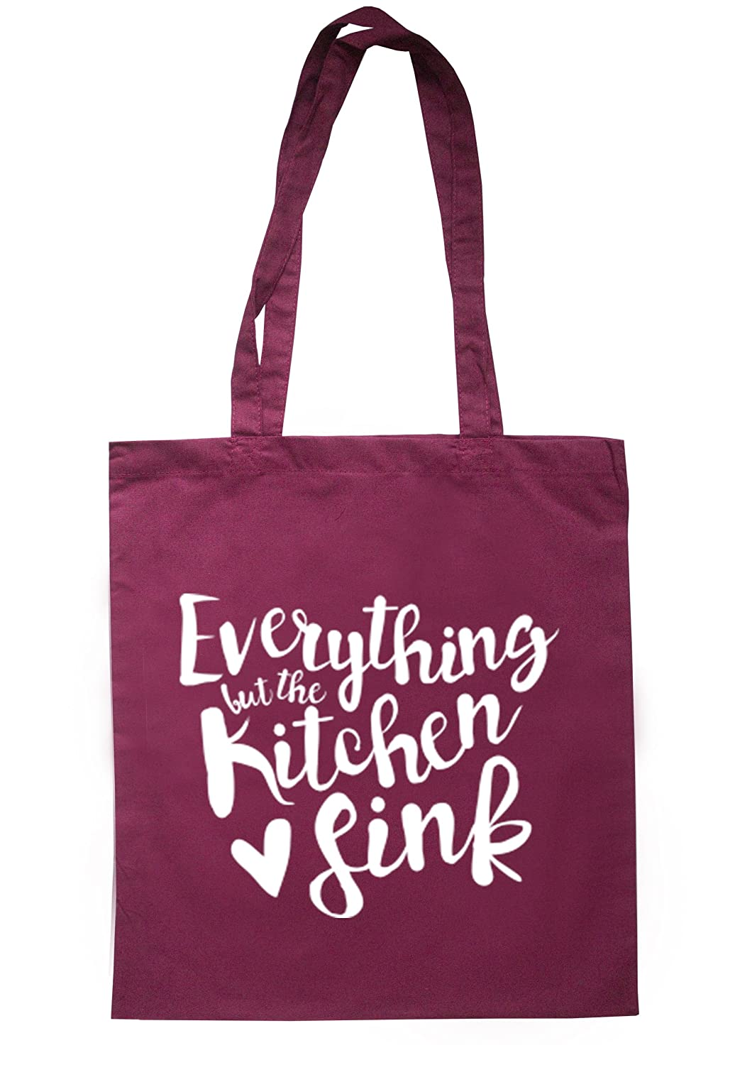 illustratedidentity Everything But The Kitchen Sink Tote Bag 37.5cm x 42cm with long handles TB0002-TB-NV