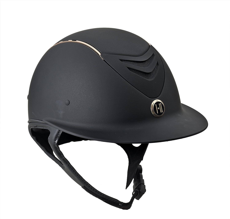 One K ディフェンダー AVANCE ワイドブリム ローズゴールド ストライプ ヘルメット Medium  B07DPSMZV1