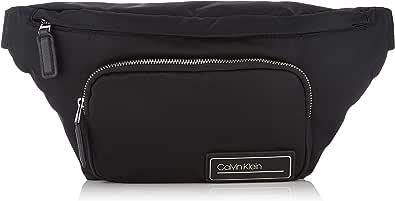 Calvin Klein - Primary Waistbag, Shoppers y bolsos de hombro Hombre, Negro (Black), 0.1x0.1x0.1 cm (W x H L)