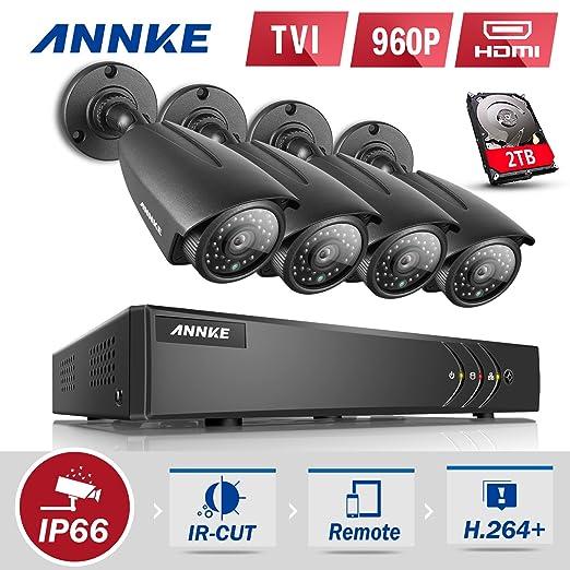 60 opinioni per ANNKE 1080N Kit di Videosorveglianza 8 Canali, Tre modalità Video Output