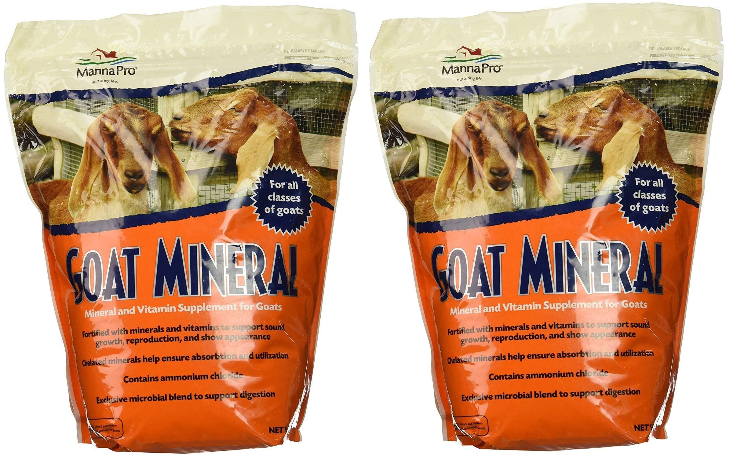 Manna Pro Goat Mineral Supplement, 8 lb (2-(Pack))