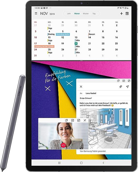 Samsung Galaxy Tab S6 T860 Wi Fi Mountain Grey Computer Zubehör