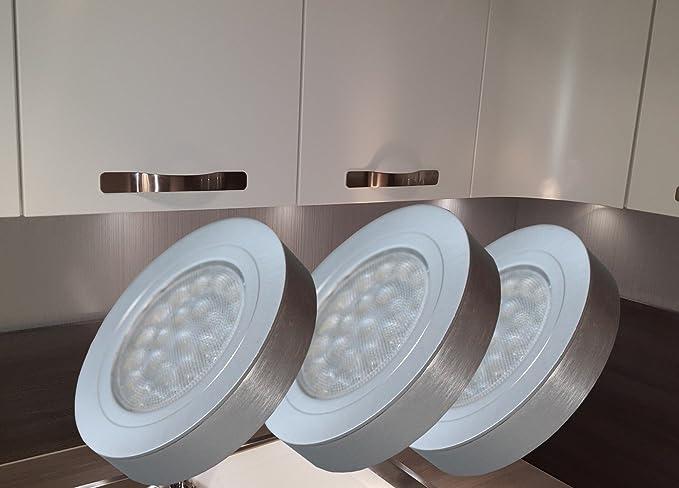 Set di lampade da incasso a led con trasformatore mobili in