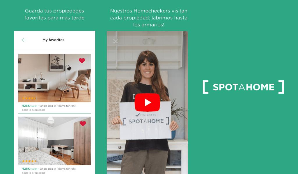 Spotahome: Pisos y habitaciones en alquiler: Amazon.es: Appstore ...
