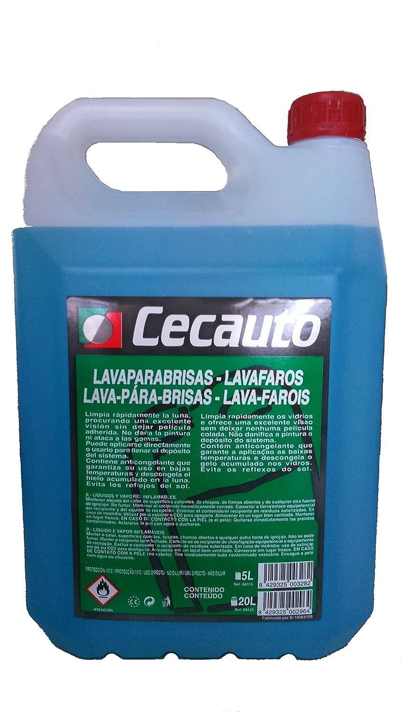 Cecauto A8115 - Lavaparabrisas, lavafaros, 5 litros.: Amazon.es: Coche y moto