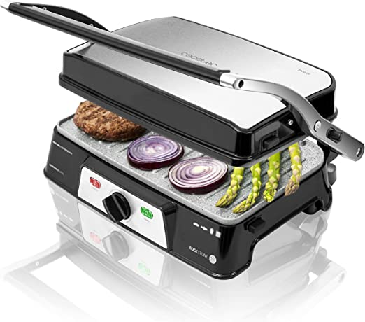 Cecotec Rockn Grill 1500 Take&Clean - Parrilla Eléctrica ...