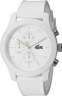 Lacoste Mens 2010823 12.12 Analog Display Quartz White Watch