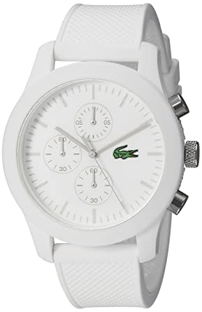 Buy Lacoste Men S 2010823 12 12 Analog Display Quartz White Watch