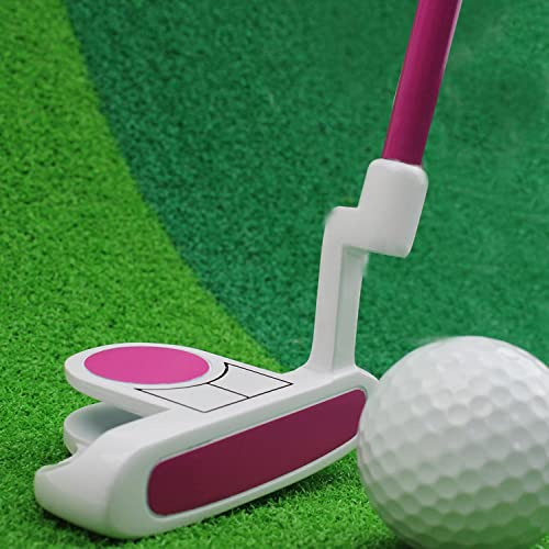 Crestgolf Kids Golf Club Junior Putter Golf Putter,Blue and Pink for Your Choice.