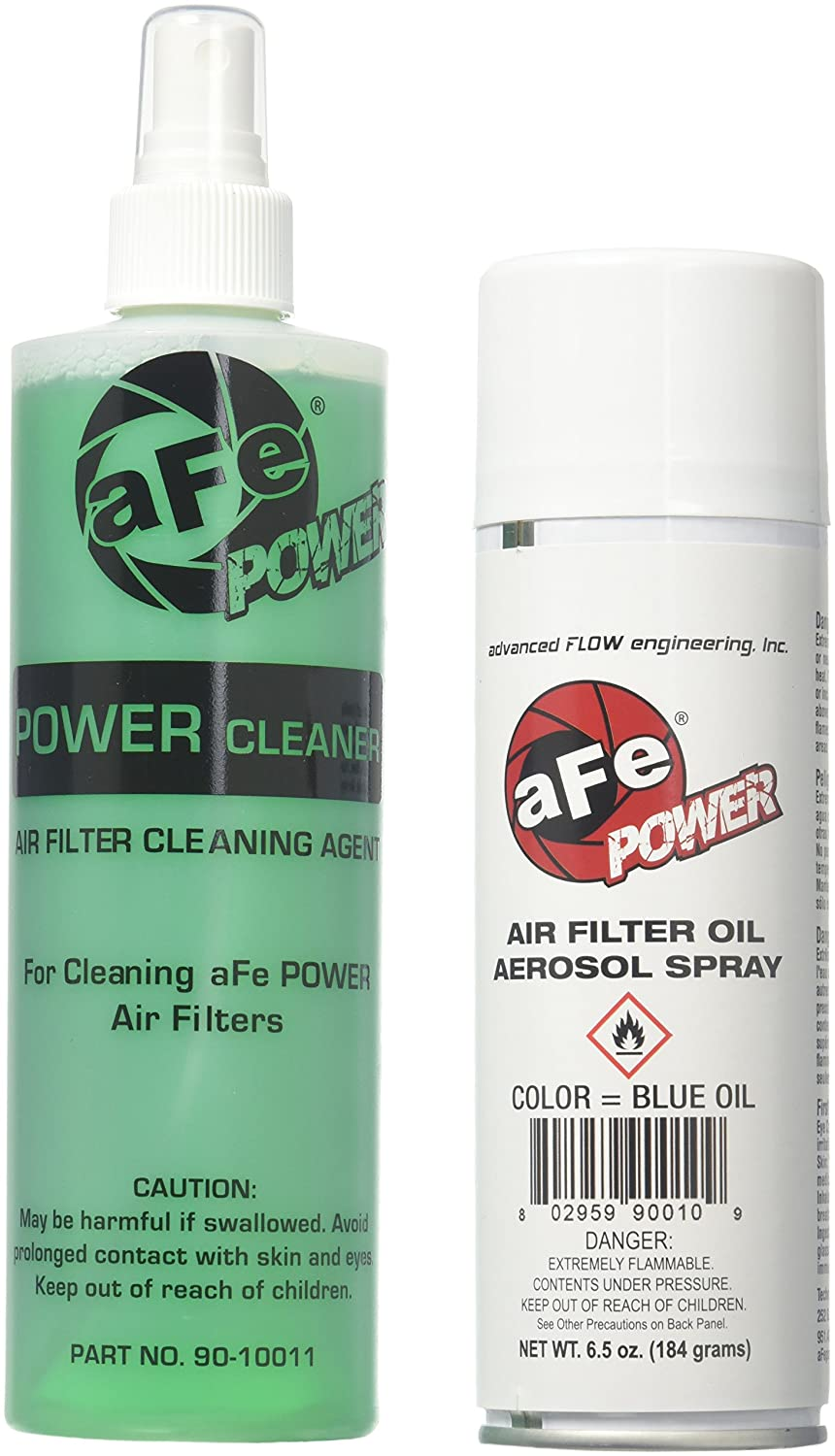 aFe Power MagnumFLOW 90-50001 Air Filter Restore Kit (Single, Blue) AFE Filters