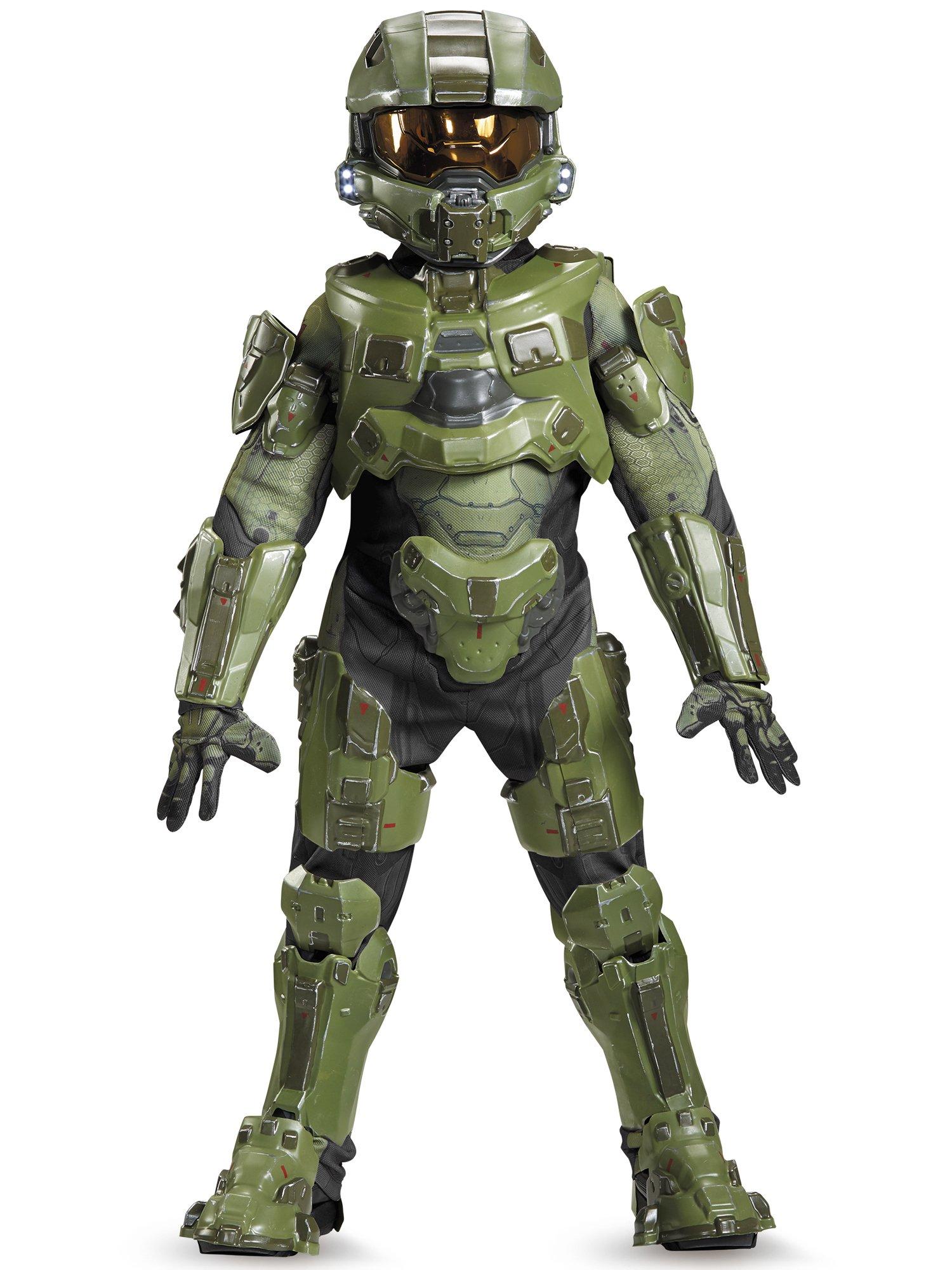 Master Chief Ultra Prestige Halo Microsoft Costume, Medium/7-8