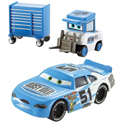 Disney/Pixar Cars, Piston Cup Series, Ruby Easy Oaks and Easy Idle Pitty Die-Cast Vehicles: Toys & Games