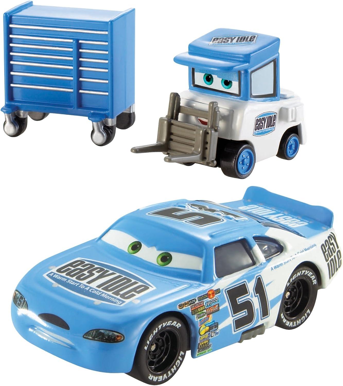 Cars 2 - Pack 2 Coches, Color Azul (Mattel CDP70): Amazon.es: Juguetes y juegos