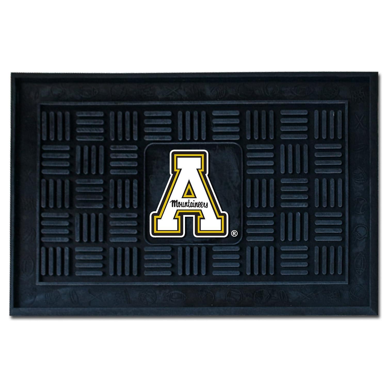 Fanmats 12438 Appalachian State Mountaineers Vinyl Medallion Door Mat