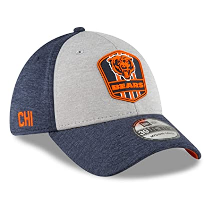 6ac34849fe74fa Amazon.com : New Era 39Thirty Cap - Sideline Away Chicago Bears - S ...