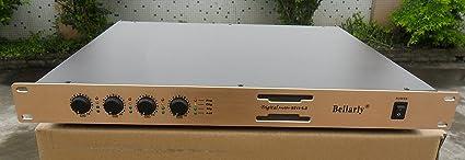 4 x 1000 W 2 ohmios – 4 canal beilarly PA Amplifier Amplificador ...