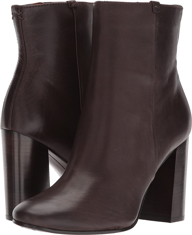 Frye Women's Mina Booties B074N84BC1 8.5 B(M) US|Dark Brown