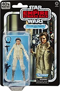 Star Wars The Black Series Princess Leia Organa (Hoth) 6-inch Scale The Empire Strikes Back 40TH Anniversary Collectible Figure